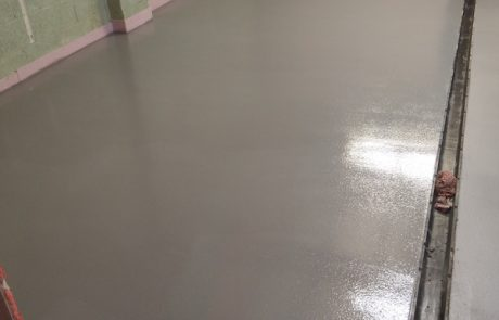 Resin Flooring Project